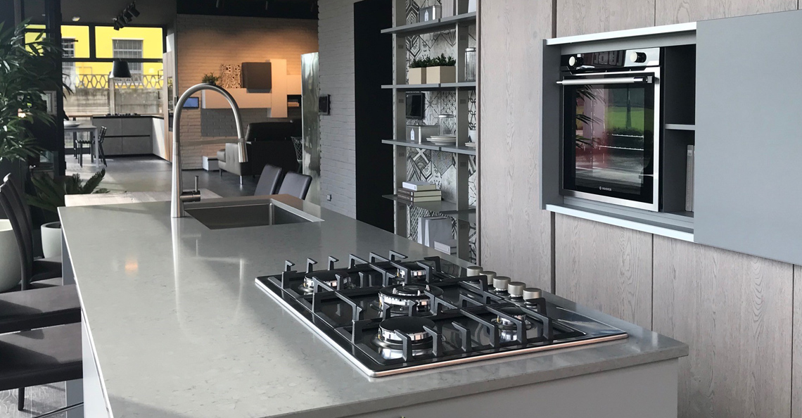 Showroom Lube Store Varese cucine